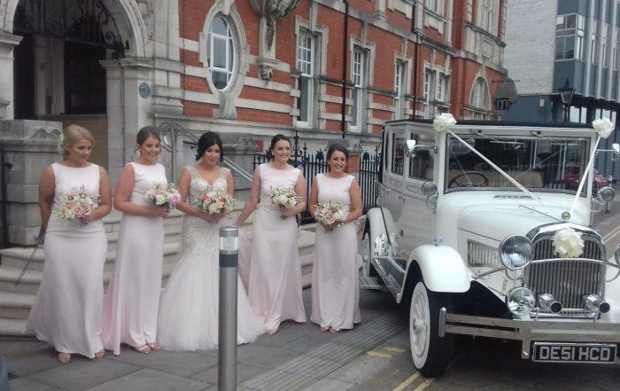 Jodie and Richard at Brides Maids