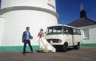 Rebecca and SEB Wedding Car Hire