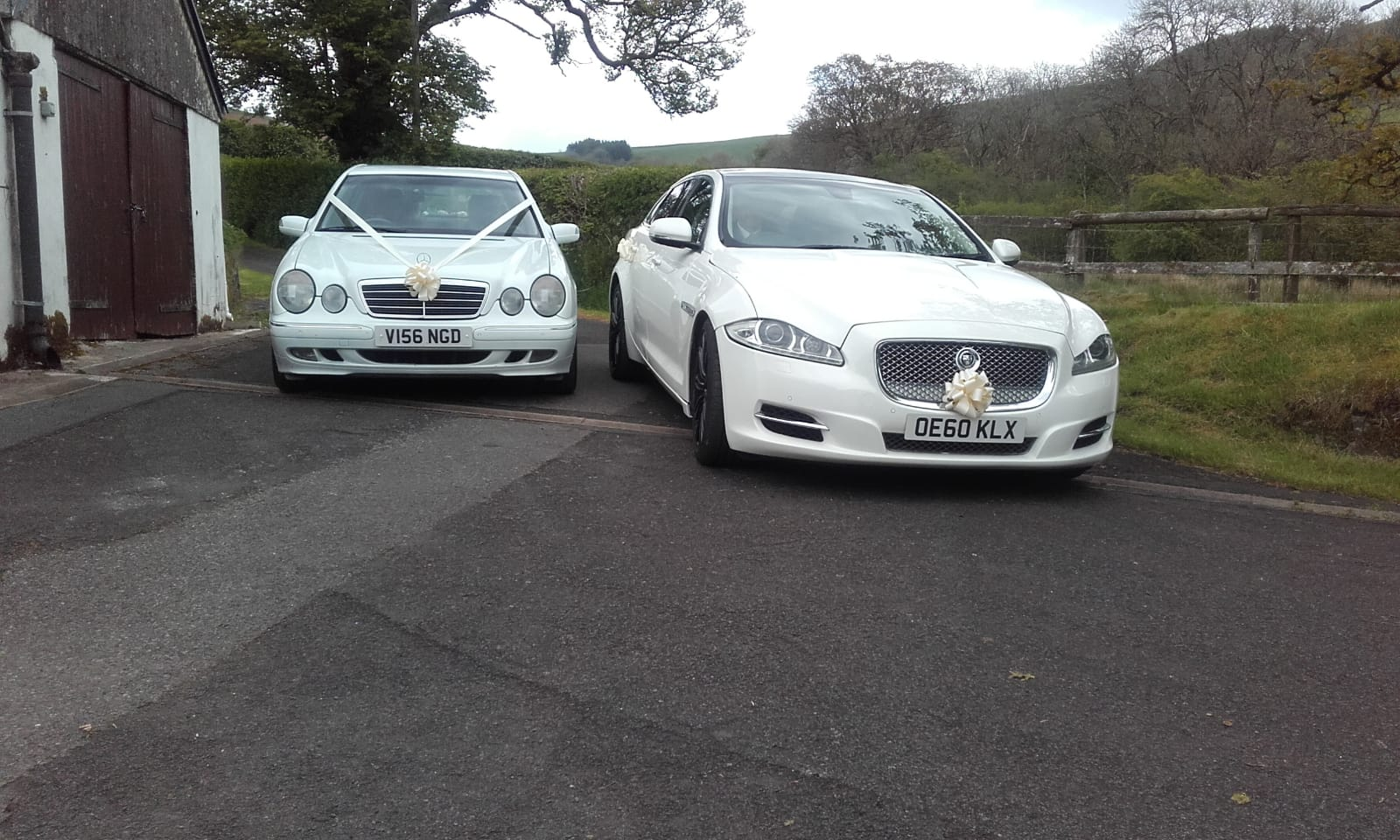 Jaguar Wedding Car Hire Swansea Neath